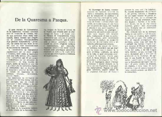 Libros de segunda mano: quaderns divulgacio cultural num 2 Ajuntament DE reus 1984 L'ARRIBADA DE LA PRIMAVERA CARAMELLES - Foto 2 - 35371118