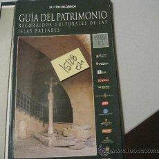 Libros de segunda mano: PALMA: PALAU EPISCOPAL Y MUSEU DE MALLORCAGUIA DEL PATRIMONIO RECORRIDOS CULTURALES DE LAS . Lote 35475567