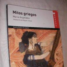 Libros de segunda mano: MITOS GRIEGOS - MARIA ANGELIDOU (EM1). Lote 183256240