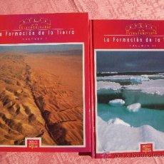 Libros de segunda mano: ATLAS DE LO EXTRAORDINARIO. LA FORMACIÓN DE LA TIERRA I Y II. Lote 35446965