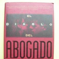 Libros de segunda mano: EL DIABLO DEL ABOGADO. DERSHOWITZ. Lote 35465846