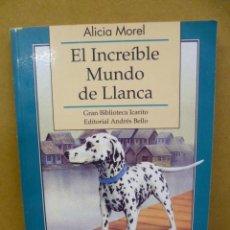 Libros de segunda mano: EL INCREIBLE MUNDO DE LLANCA, ALICIA MORELL - PAGINAS CON ILUSTRACIONES DE ALICIA Y LAURA THAYER. Lote 35498216
