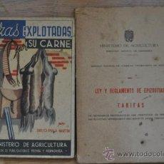 Libros de segunda mano: MINISTERIO DE AGRICULTURA (POSTGUERRA). Lote 35507730