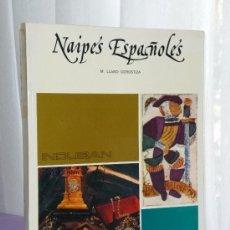 Libros de segunda mano: NAIPES ESPAÑOLES.. Lote 35223520