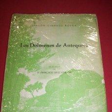Libros de segunda mano: GIMÉNEZ REYNA, SIMEÓN - LOS DÓLMENES DE ANTEQUERA. Lote 35566451