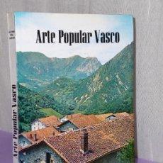 Libros de segunda mano: ARTE POPULAR VASCO. . Lote 35240177
