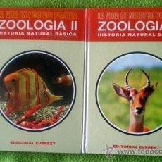 Libros de segunda mano: ZOOLOGÍA(I-II);EVEREST 1985. Lote 18728081