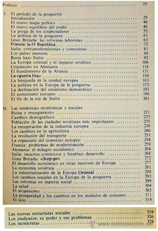 Libros de segunda mano: EUROPA DESPUÉS DE HITLER I - WALTER LAQUEUR - SARPE 1985 -VER ÍNDICE - Foto 2 - 35584496