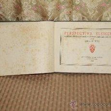 Libros de segunda mano: 2460- PERSPECTIVA ELEMENTAL. EDELVIVES. EDIT LUIS VIVES. 1940.. Lote 35668716
