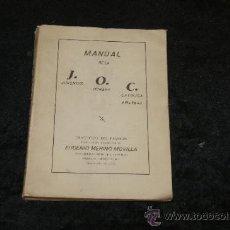 Libros de segunda mano: LIBRO MANUAL DE LA JUVENTUD OBRERA CATOLICA. 1945. JOC.. Lote 35668980