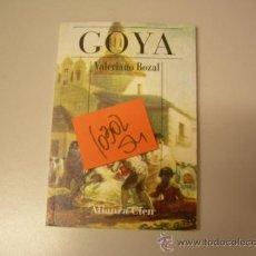 Libros de segunda mano: GOYAVALERIANO BOZALPINTURA ARTE2,00. Lote 35739313