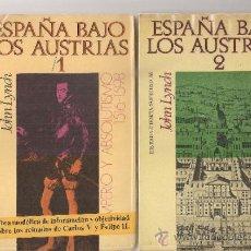 Libros de segunda mano: ESPAÑA BAJO LOS AUSTRIAS / J. LYNCH. BCN : PENINSULA, 1970-2. 2 VOLS. 20X13CM. 459 + 429 P.. Lote 35700178