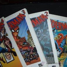 Libros de segunda mano: LIBRO GRANDES HEROES DEL COMIC BIBLIOTECA EL MUNDO SPIDERMAN 1 2 3 4. Lote 35796393