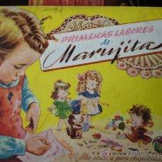 Libros de segunda mano: PRIMERAS LABORES DE MARUJITA.COLECCION ALTA COSTURA PARA CHIQUITINAS,EDITORIAL MOLINO 1948.26 PG. Lote 35854940