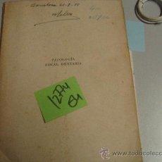 Libros de segunda mano: PATOLOGIA FOCAL DENTARIAJUAN GIBERT QUERALTÓ1952MEDICINA SIN TAPAS2,00. Lote 36009549