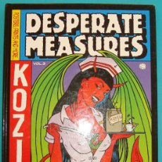 Libros de segunda mano: DESPERATE MEASURES KOZIK VOL 3, POSTER PRINTS AND MORE, MEDIDAS DESESPERADAS KOZIK VOL. 3. Lote 36036414