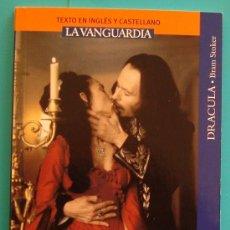 Libros de segunda mano: DRACULA DE BRAM STOKER LIBRO CON TEXTO EN INGLES Y CASTELLANO. Lote 36038679