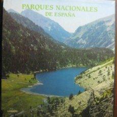 Libros de segunda mano: PARQUES NACIONALES DE ESPAÑA - EDITORIAL LUNWEG - EXTRAORDINARIA OBRA -CON ESTUCHE. Lote 36106204