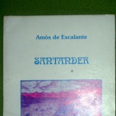 Libros de segunda mano: SANTANDER;AMÓS DE ESCALANTE;TANTÍN 1994;¡NUEVO!. Lote 16125176