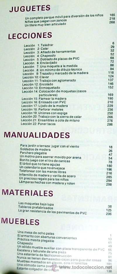 Libros de segunda mano: ENCICLOPEDIA SALVAT DEL BRICOLAJE - COMPLETA - 10 TOMOS + 1 TRABAJOS ARTÍSTICOS - VER ÍNDICES - Foto 4 - 36241286