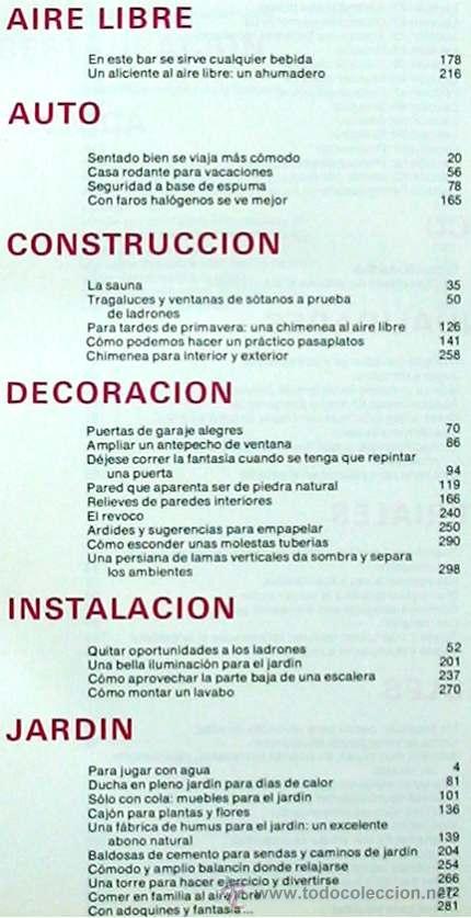 Libros de segunda mano: ENCICLOPEDIA SALVAT DEL BRICOLAJE - COMPLETA - 10 TOMOS + 1 TRABAJOS ARTÍSTICOS - VER ÍNDICES - Foto 9 - 36241286