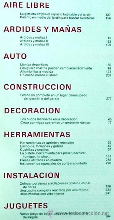 Libros de segunda mano: ENCICLOPEDIA SALVAT DEL BRICOLAJE - COMPLETA - 10 TOMOS + 1 TRABAJOS ARTÍSTICOS - VER ÍNDICES - Foto 13 - 36241286