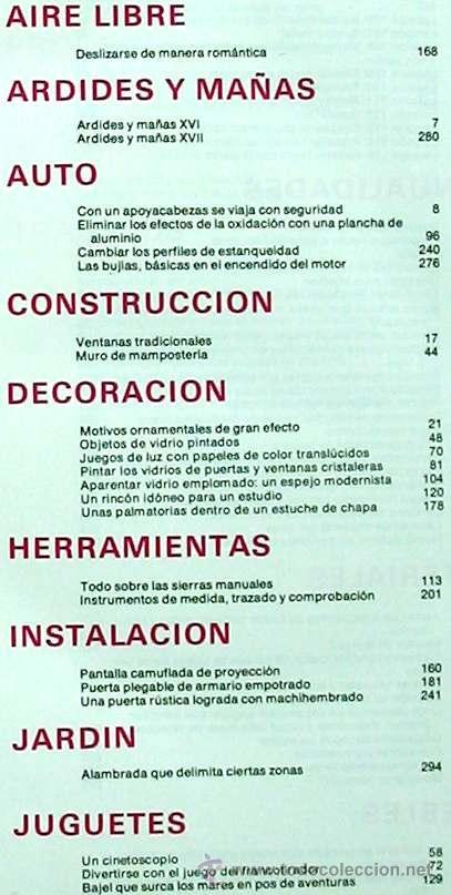 Libros de segunda mano: ENCICLOPEDIA SALVAT DEL BRICOLAJE - COMPLETA - 10 TOMOS + 1 TRABAJOS ARTÍSTICOS - VER ÍNDICES - Foto 19 - 36241286