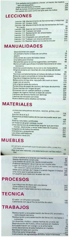 Libros de segunda mano: ENCICLOPEDIA SALVAT DEL BRICOLAJE - COMPLETA - 10 TOMOS + 1 TRABAJOS ARTÍSTICOS - VER ÍNDICES - Foto 20 - 36241286