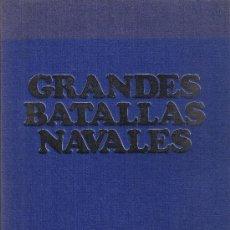 Libros de segunda mano: GRANDES BATALLAS NAVALES - 1914-1945 - BIBLIOTECA LA VANGUARDIA - 12 FASCÍCULOS ENCUADERNADOS. Lote 36242915