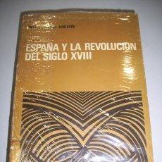 Libros de segunda mano: HERR, RICHARD. ESPAÑA Y LA REVOLUCIÓN DEL SIGLO XVIII. Lote 36252783