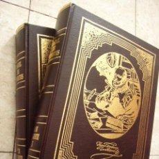 Libros de segunda mano: EL INGENIOSO HIDALGO DON QUIJOTE DE LA MANCHA. CERVANTES. ED. RUEDA, 2004. 2 TOMOS. ILUSTRADO.. Lote 36250590