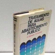 Libros de segunda mano - TRATAMIENTO DE AGUAS PARA ABASTECIMIENTO PUBLICO--EDITORES TÉCNICOS ASOCIADOS--1977 - 36374016