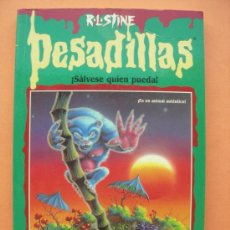 Libros de segunda mano: PESADILLAS. SÁLVESE QUIÉN PUEDA.. Lote 36381888