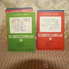 Libros de segunda mano: 2803- HISTORIETES EXEMPLARS. J.M. FOLCH I TORRES. EDIT. BALMES. 11 EJEMPLARES. VER DESCRIPCION. . Lote 36395840