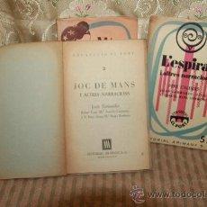 Libros de segunda mano: 2809- COLECCION EL PONT. EDIT ARIMANY. 1956/1957. 4 TITULOS. VER DESCRIPCION. . Lote 36398006