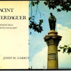 Gebrauchte Bücher - GARRUT : JACINT VERDAGUER (AJUNTAMENT DE BARCELONA, 1977) - 36401461