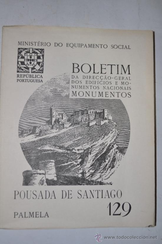 BOLETIM DE DIRECÇAO-GERAL DOS EDIFÍCIOS E MONUMENTOS NACIONAIS. MONUMENTOS. Nº 129 RM61326 (Libros de Segunda Mano - Bellas artes, ocio y coleccionismo - Otros)