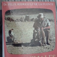 Libros de segunda mano: LOS ANIMALES EN SU MEDIO AMBIENTE (FELIX RODRIGUEZ DE LA FUENTE). Lote 36529884