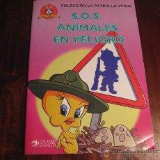 Libros de segunda mano: S.O.S. ANIMALES EN PELIGRO. Lote 36627274