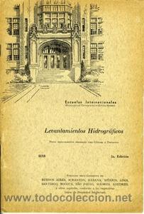 LEVANTAMIENTOS HIDROGRÁFICOS. ESCUELAS INTERNACIONALES (Libros de Segunda Mano - Ciencias, Manuales y Oficios - Otros)