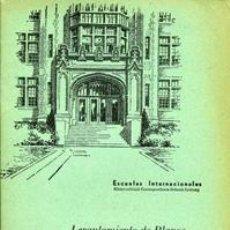 Libros de segunda mano: LEVANTAMIENTO DE PLANOS CON LA CADENA. ESCUELAS INTERNACIONALES. Lote 36698461