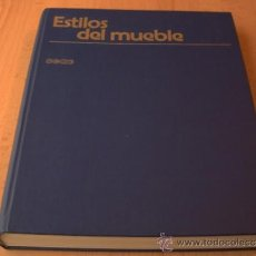 Libros de segunda mano: ESTILOS DEL MUEBLE EDICIONES CEAC BARCELONA 1979. Lote 36704119