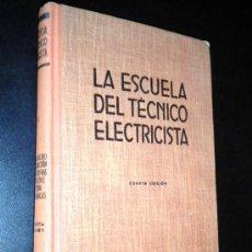 Libros de segunda mano: TEORÍA, CÁLCULO Y CONSTRUCCIÓN DE LAS MÁQUINAS DE CORRIENTE ALTERNA SINCRÓNICAS. V. Lote 36733122