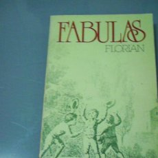 Libros de segunda mano: FÁBULAS - FLORIAN.. Lote 36745832