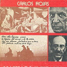 Libros de segunda mano: MACHADO Y PICASSO ARTE Y MUERTE EN EL EXILIO CARLOS ROJAS ED DIROSA 1977 1ª EDICION * GUERRA CIVIL. Lote 234320335