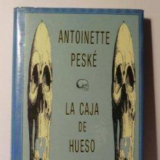 Libros de segunda mano: LA CAJA DE HUESO. EDIT. SIRUELA. COL. OJO SIN PÁRPADO. EXCELENTE. Lote 128218170