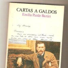 Libros de segunda mano: CARTAS A GALDOS .- EMILIA PARDO BAZÁN. Lote 232338695