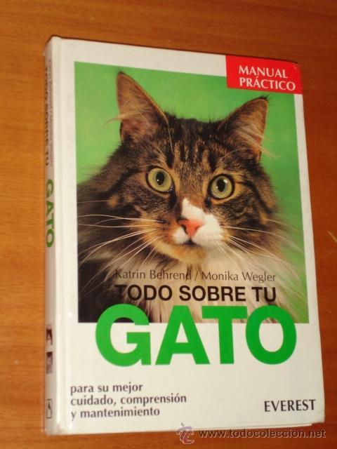 TODO SOBRE TU GATO - EVEREST (Libros de Segunda Mano - Ciencias, Manuales y Oficios - Otros)