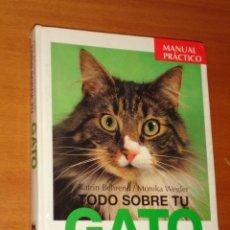 Libros de segunda mano: TODO SOBRE TU GATO - EVEREST. Lote 37074531