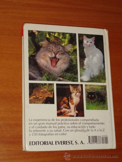 Libros de segunda mano: TODO SOBRE TU GATO - EVEREST - Foto 2 - 37074531